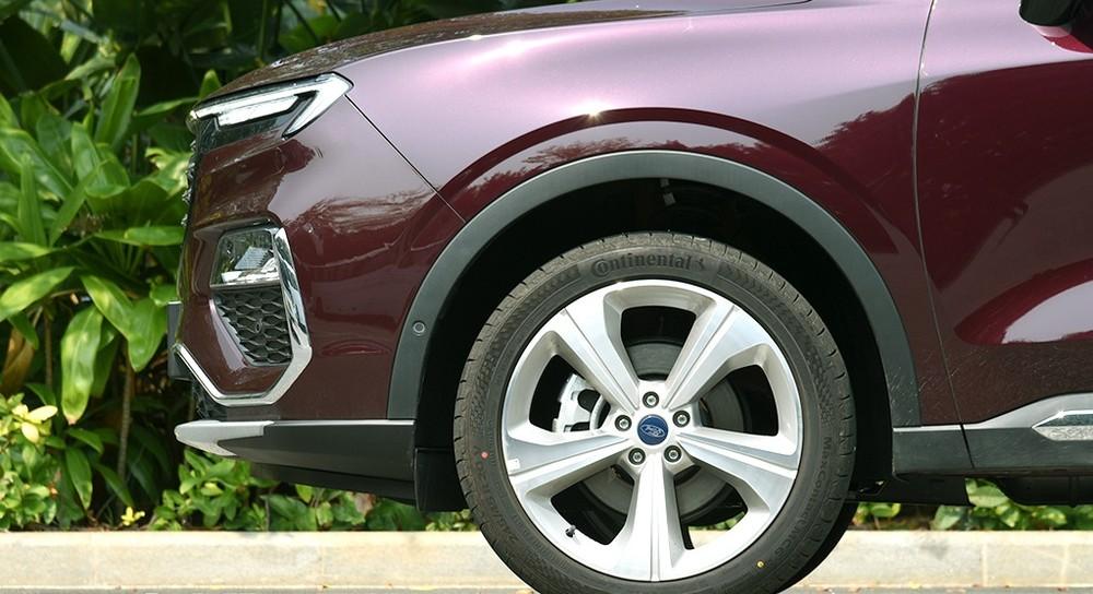 Bộ vành 20 inch của Ford Equator 2021