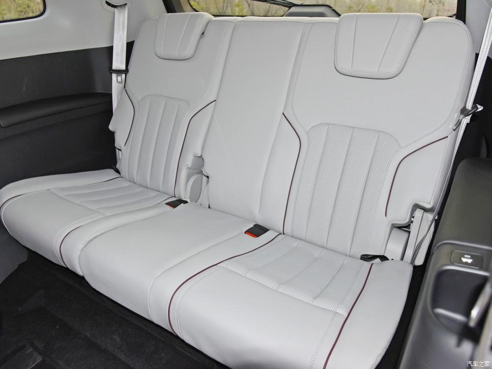 Hàng ghế cuối của Ford Equator 2021
