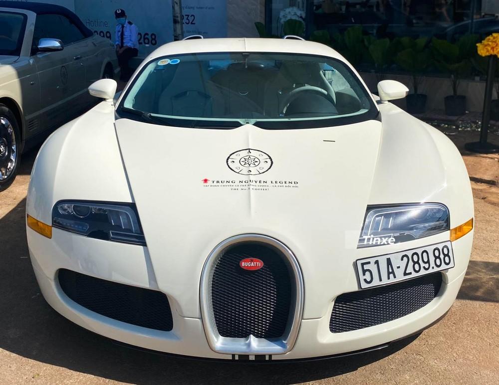 Bugatti Veyron là chiếc xe hypercar đầu tiên đại gia Việt sở hữu