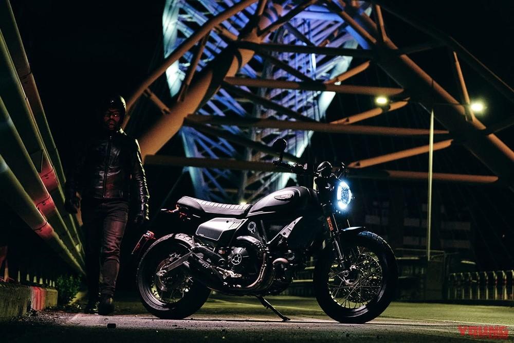 Ducati Scrambler Nightshift có giá bán tại Nhật Bản