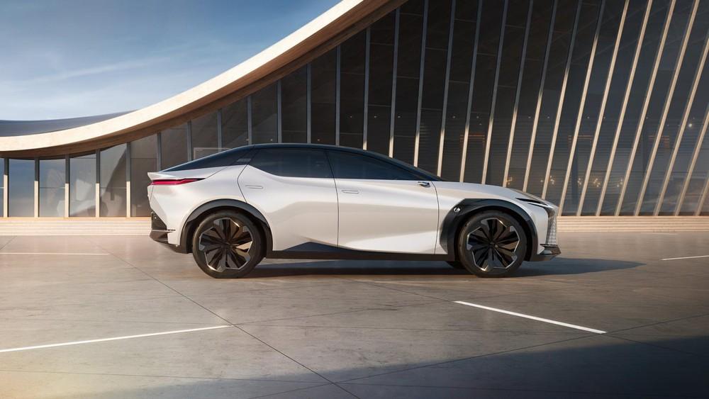 Lexus LF-Z Electrified Concept sở hữu kiểu dáng SUV lai coupe mượt mà