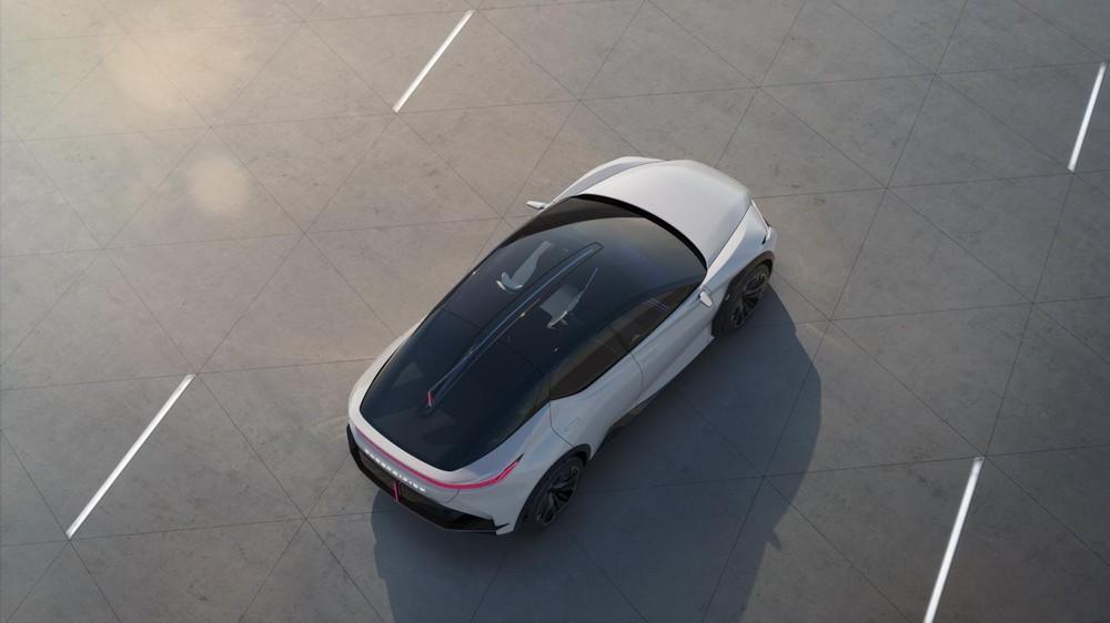 Lexus LF-Z Electrified Concept được trang bị 2 mô-tơ điện