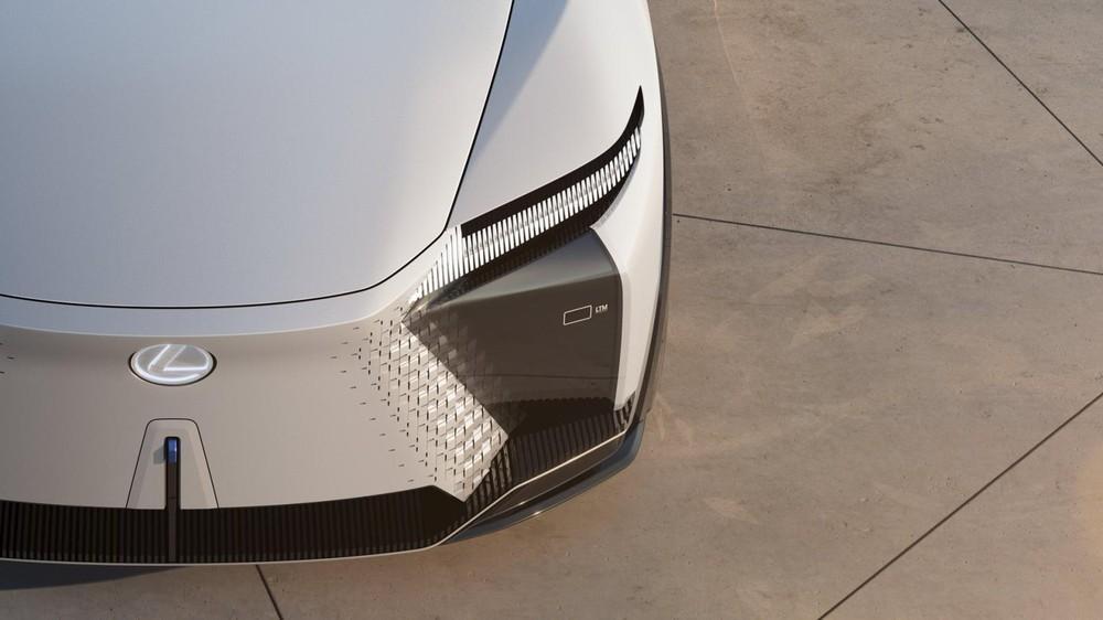 Thiết kế đầu xe của Lexus LF-Z Electrified Concept