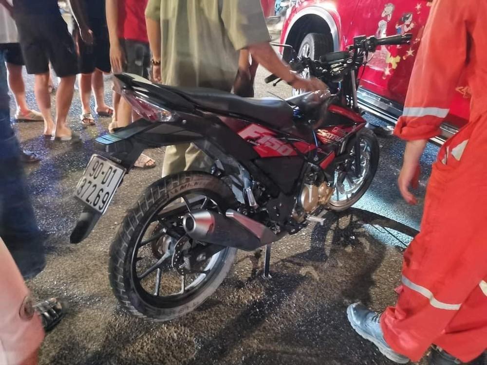Chiếc Suzuki Satria F150 này được cho là xe ăn trộm