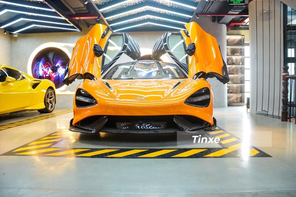 Còn đây là diện mạo McLaren 765LT độc nhất Việt Nam hiện nay
