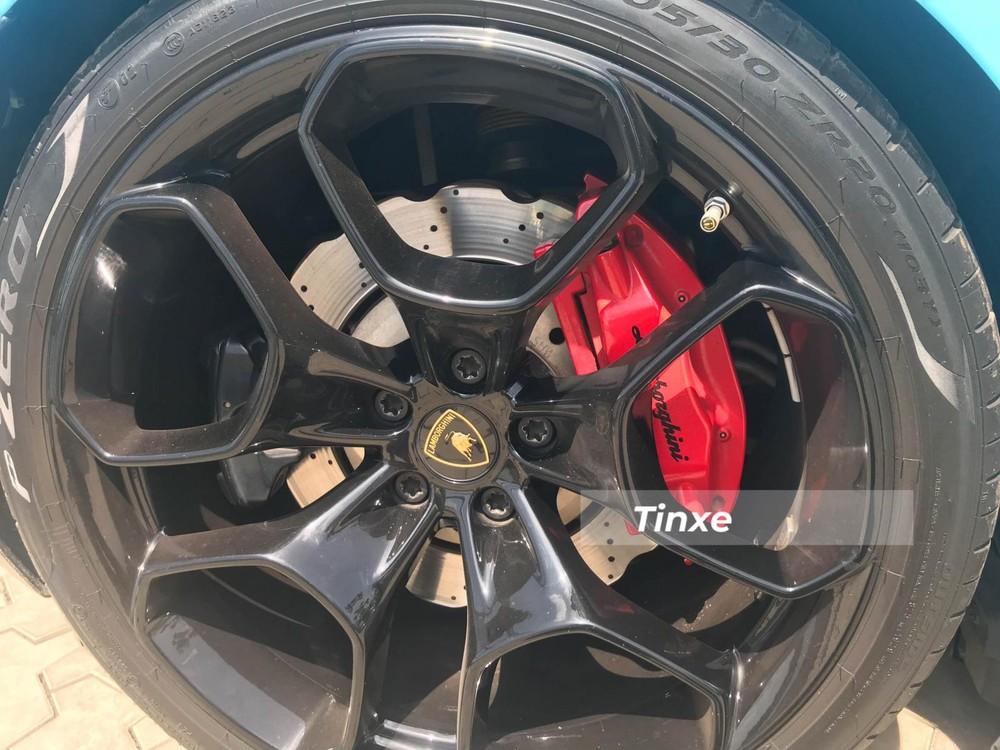 Bộ mâm của xe Lamborghini Huracan LP580-2