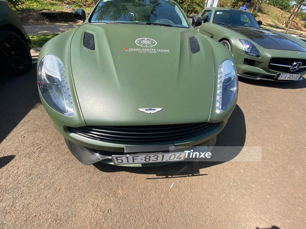 Thiết kế phần đầu xe của Aston Martin Vanquish thế hệ thứ 2