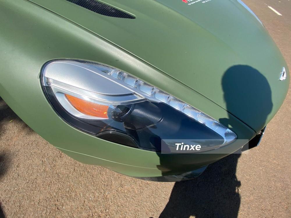 Thiết kế đèn pha của Aston Martin Vanquish