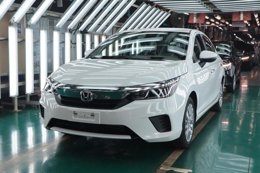 Ngày 27/1/2021, chiếc ô tô Honda thứ 100.000 được xuất xưởng tại Việt Nam chính là Honda City mới.
