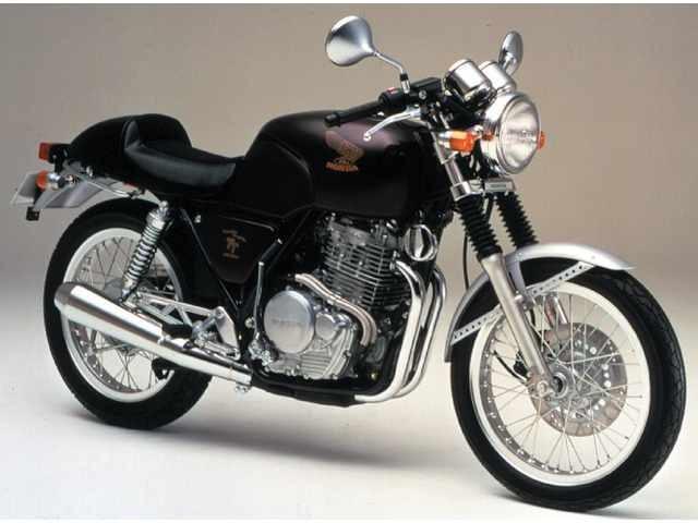 Mẫu xe cổ điển Honda GB500 được ra mắt từ những năm 1989
