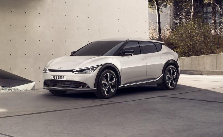 Kia EV6 2021 có thiết kế ngoại thất khá độc đáo