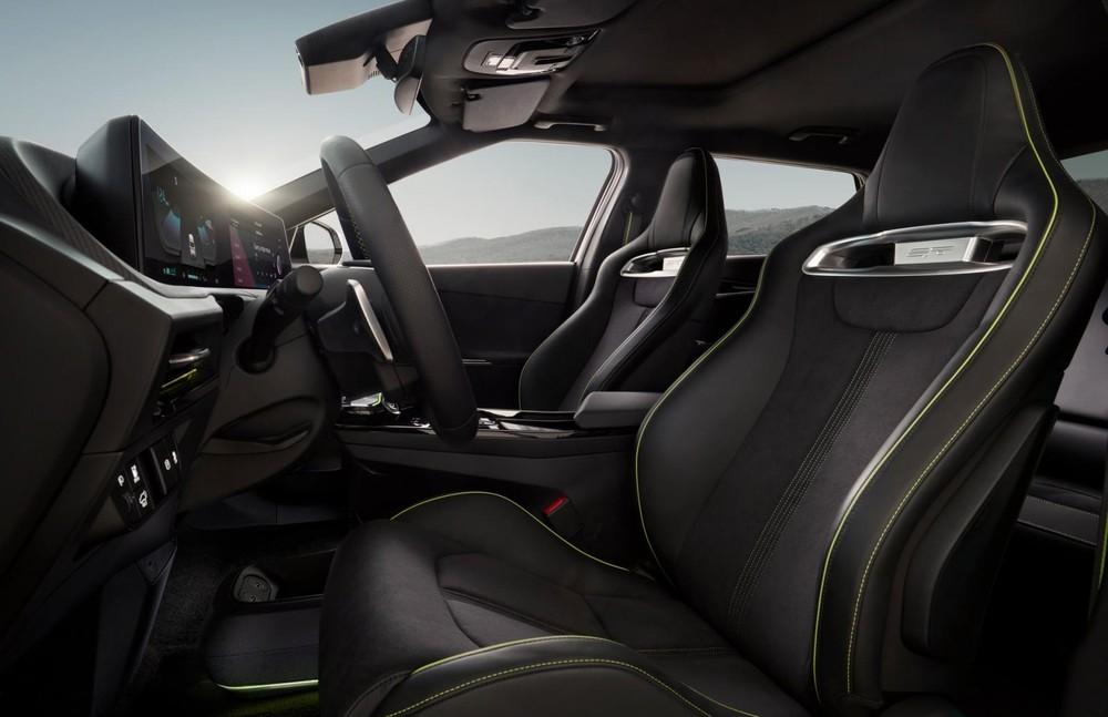 Kia EV6 2021 dùng ghế bọc bằng nỉ làm từ nhựa tái chế