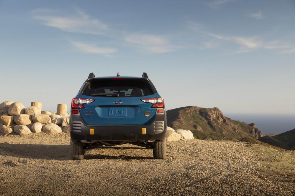 Subaru Outback Wilderness 2022 dùng hộp số CVT cao cấp