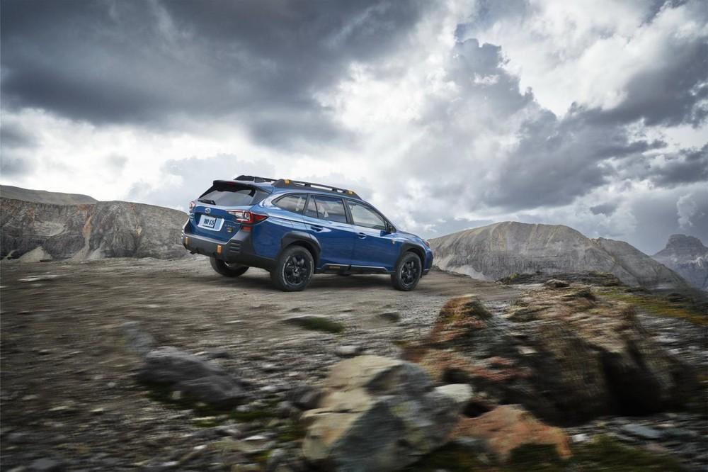 Subaru Outback Wilderness 2022 được trang bị động cơ tăng áp 2.4L