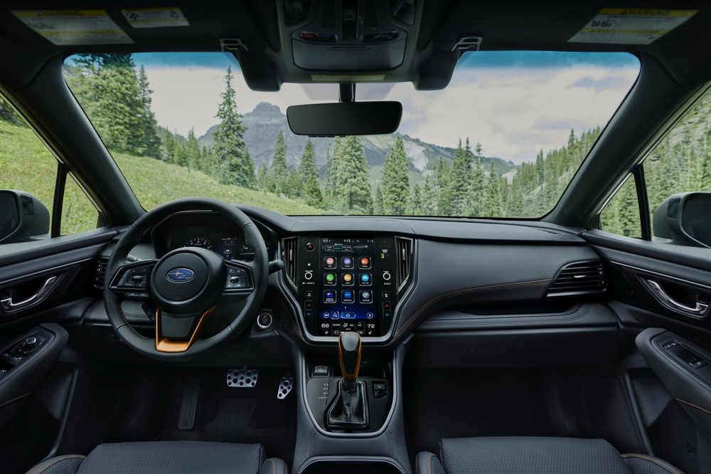 Nội thất bên trong Subaru Outback Wilderness 2022