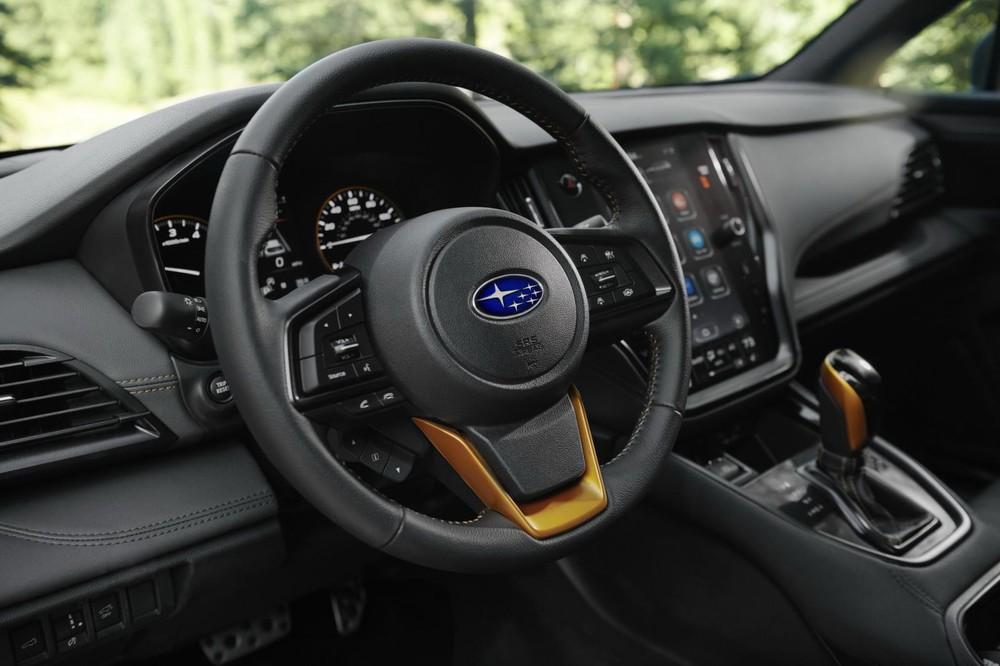 Vô lăng của Subaru Outback Wilderness 2022