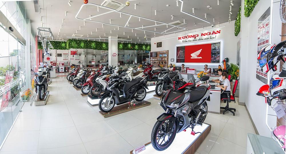 Honda Việt Nam có đến 801 cửa hàng bán xe và dịch vụ trên toàn quốc