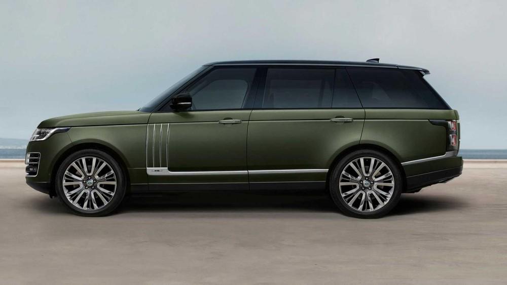 Range Rover SVAutobiography Ultimate Edition 2021 có gầm thấp hơn 8 mm so với bản thường