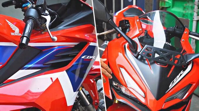 Honda CBR150R 2021 sở hữu thiết kế mới tuyệt đẹp