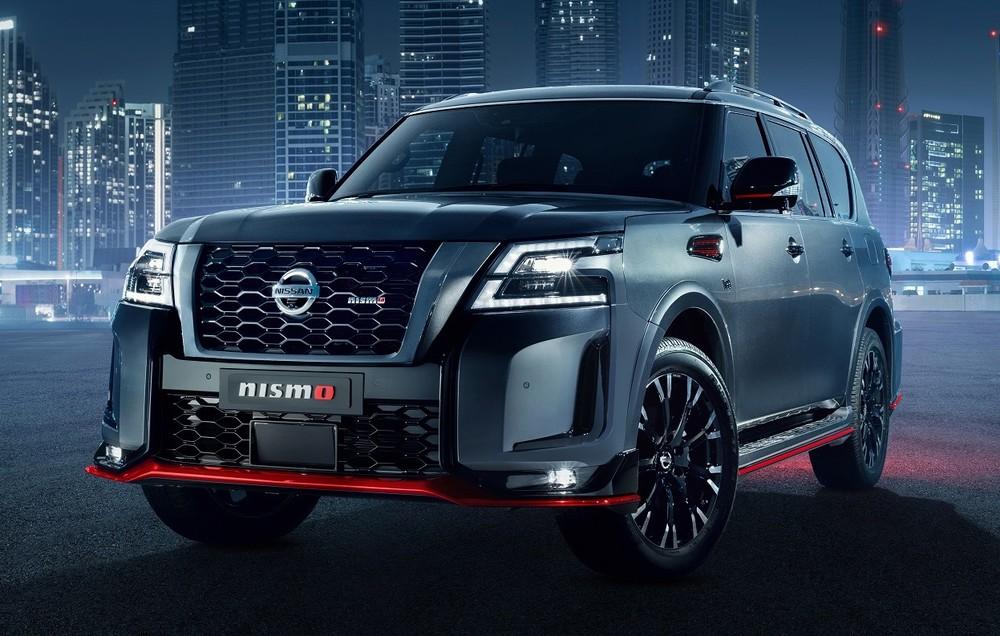 Nissan Patrol Nismo 2021 trình làng tại Trung Đông