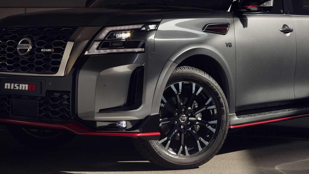 Bộ vành 22 inch của Nissan Patrol Nismo 2021