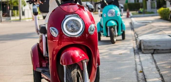 Cặp đôi xe điện mới được ra mắt tại thị trường Thái Lan