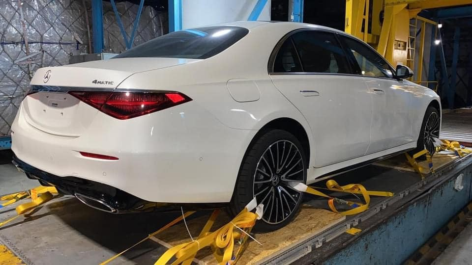 Thiết kế đuôi xe Mercedes-Benz S500 4Matic thế hệ mới