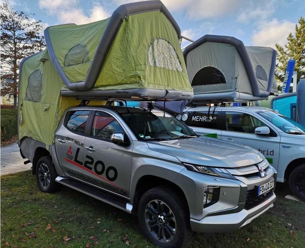 Mitsubishi L200 với lều cắm trại thế này hiện chỉ có ở thị trường Đức