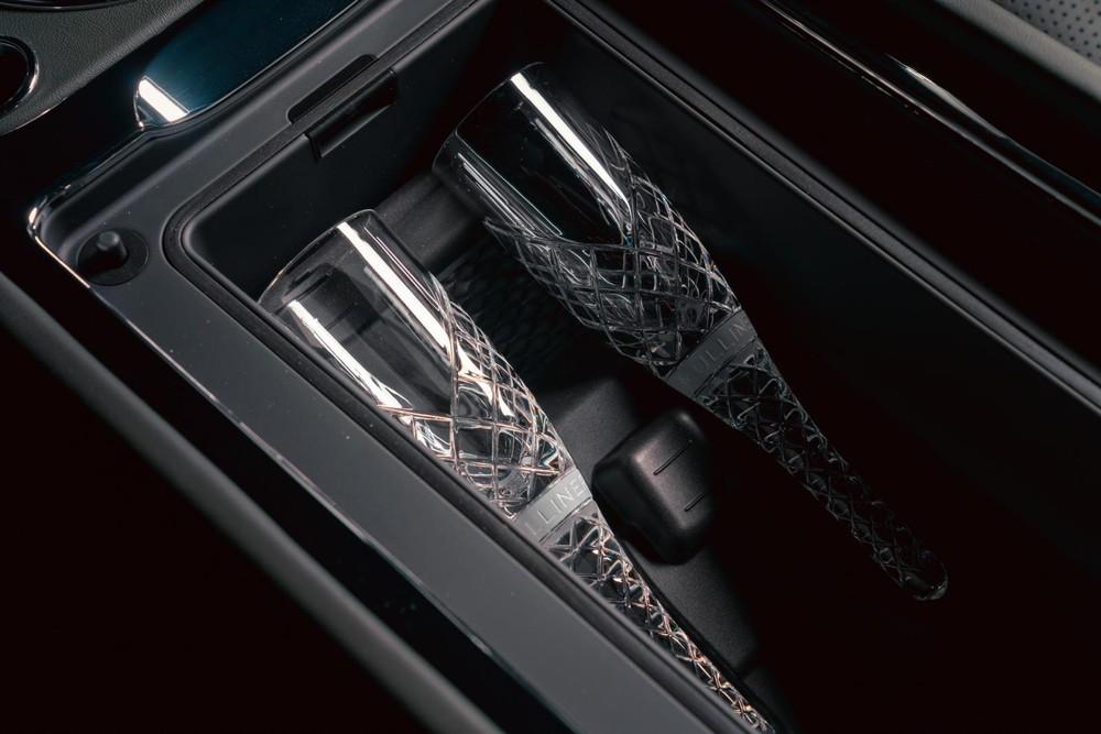 Ngăn làm mát đồ uống của Bentley Bentayga Hybrid