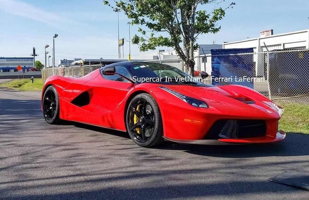 Và Ferrari LaFerrari của doanh nhân Việt hiện sinh sống tại Mỹ