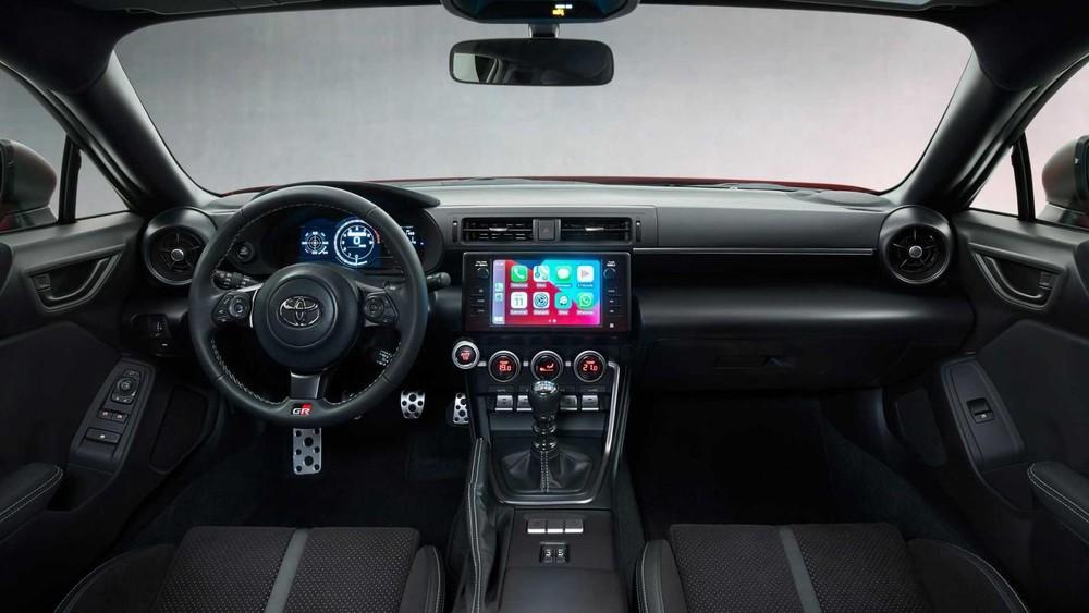 Nội thất của Toyota GR 86 2022