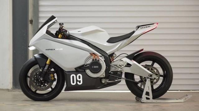 Mẫu Sport bike điện sở hữu thiết kế của siêu mô tô
