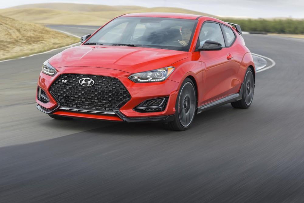 Veloster là một trong những mẫu xe bán chậm nhất của Hyundai tại Mỹ trong tháng 3/2021