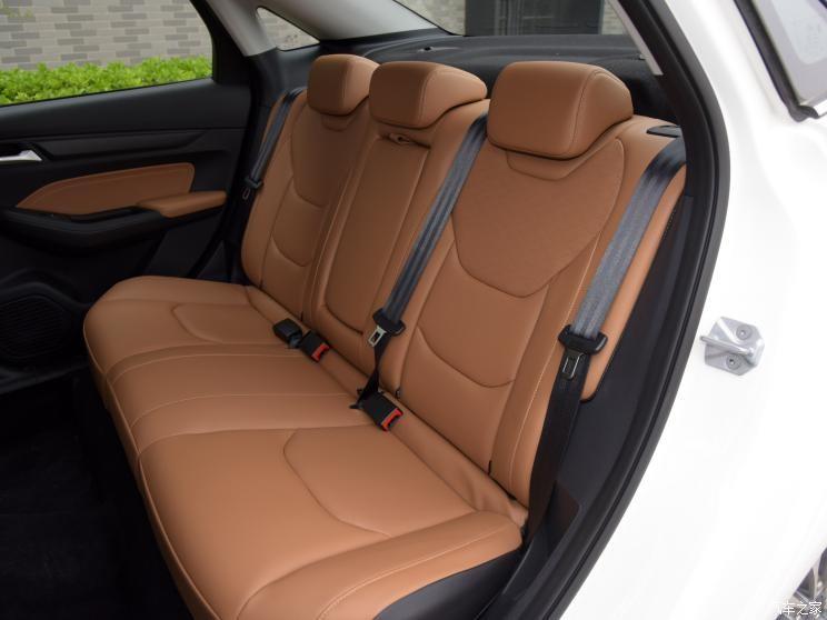 Ghế sau của Ford Escort 2021