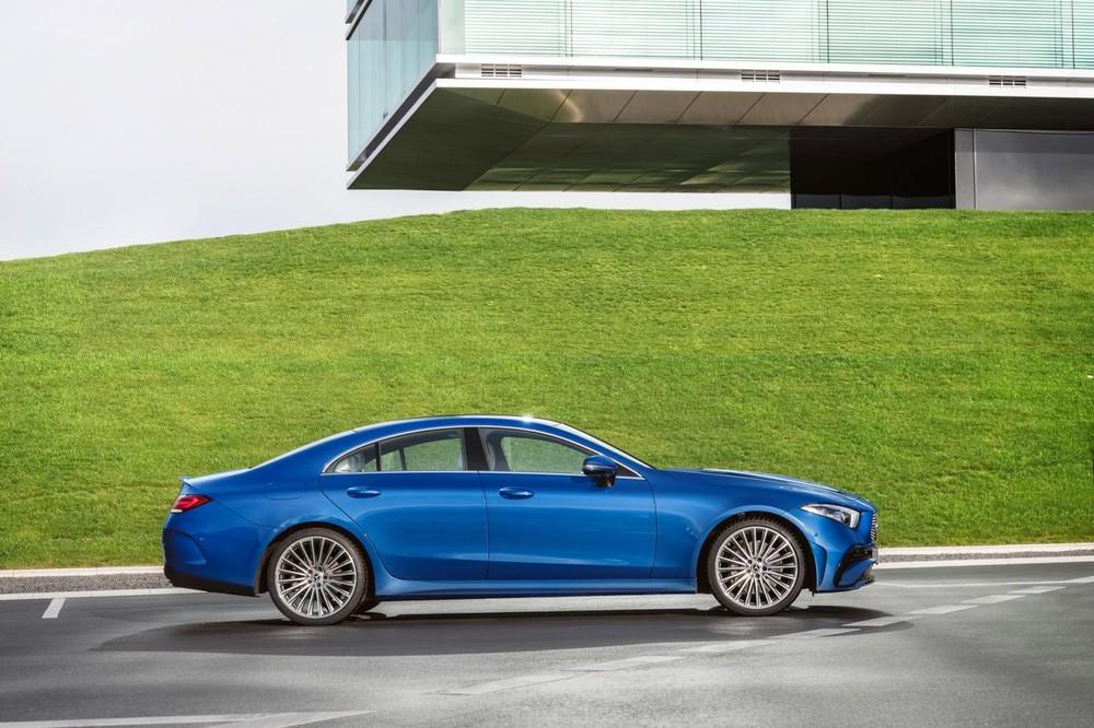 Mercedes-Benz CLS 2021 có thêm nhiều vành mới