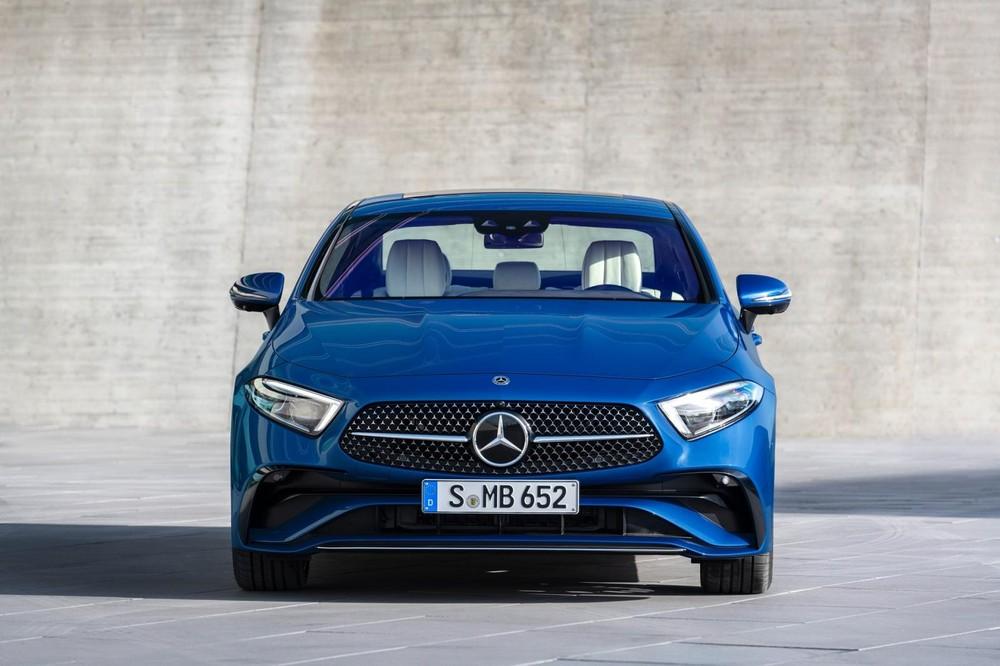 Mercedes-Benz CLS 2021 có lưới tản nhiệt mới