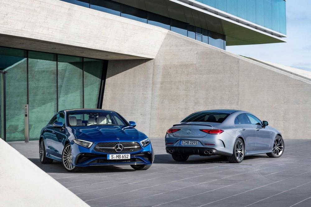 Mercedes-Benz CLS 2021 trình làng