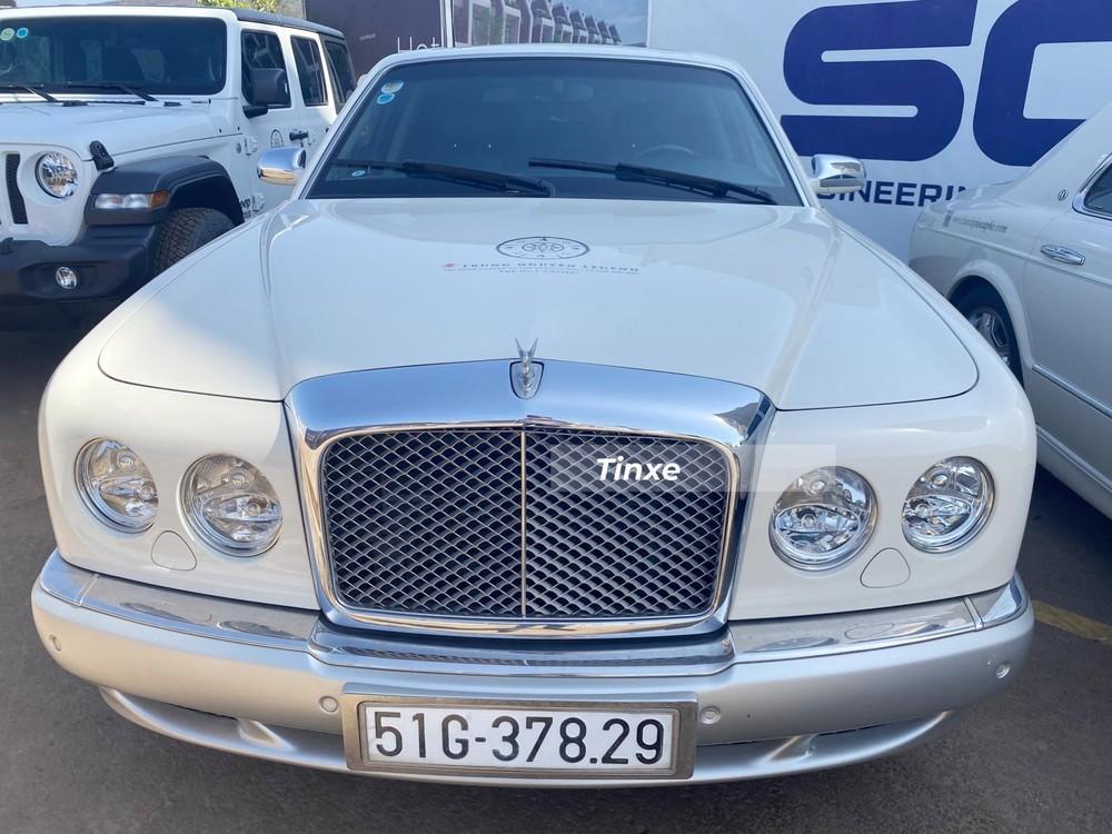 Còn đây là bản Bentley Arnage R Mulliner