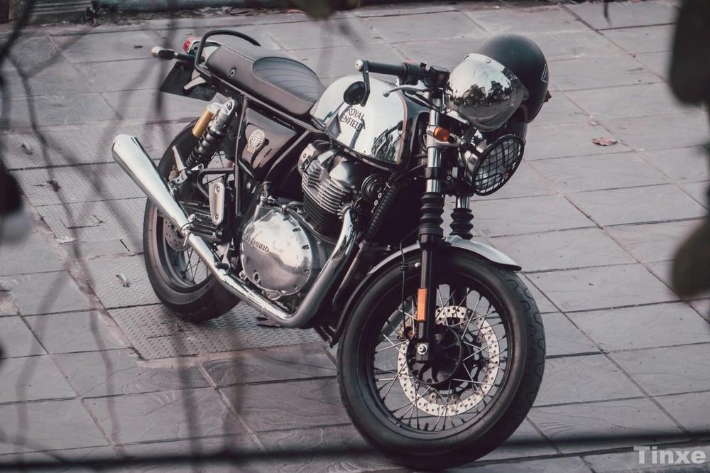 Giảm xóc trước trên Royal Enfield 650 Twins được đánh giá kém bởi nhiều biker sau khi sử dụng