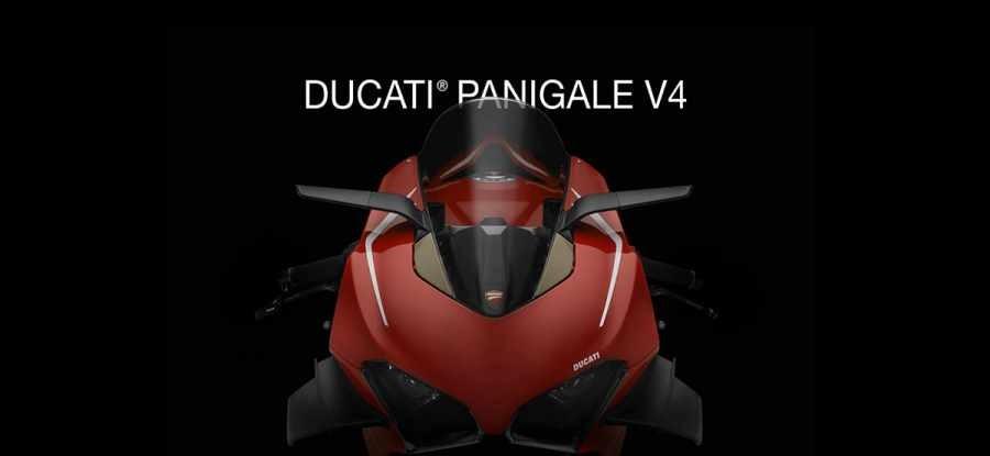 Bộ gương độtrên Ducati Panigale V4