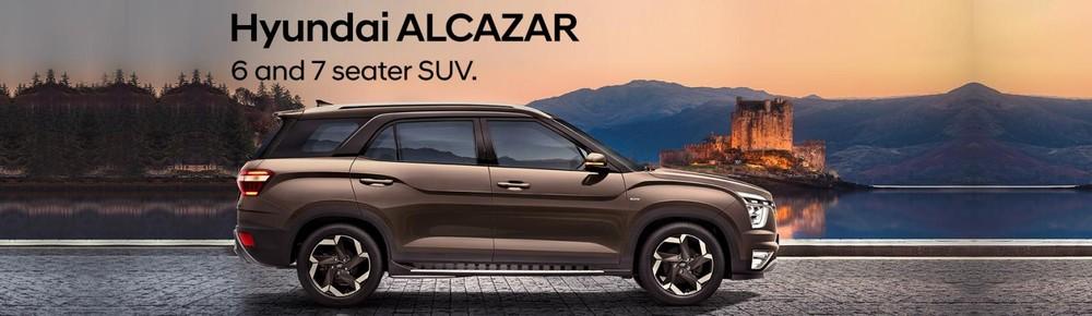 Hyundai Alcazar 2021 có chiều dài cơ sở nhỉnh hơn 150 mm so với Creta