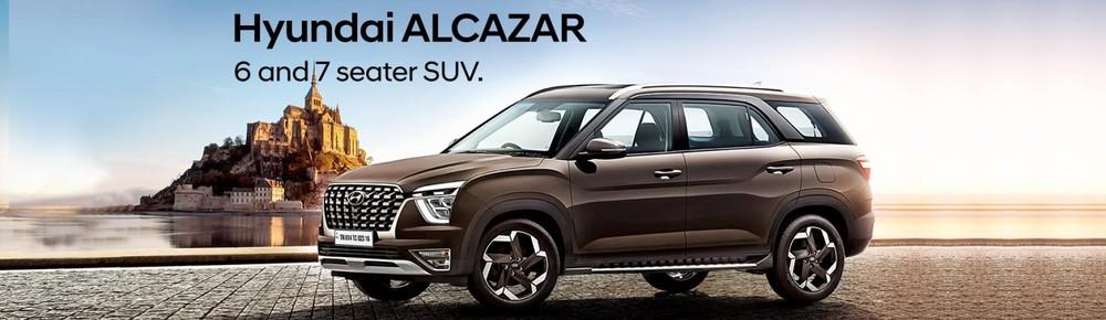 Hyundai Alcazar 2021 được trang bị thiết kế đầu xe riêng