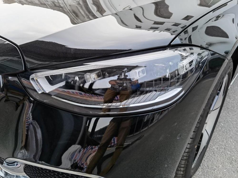 Đèn pha của Mercedes-Maybach S480 2021