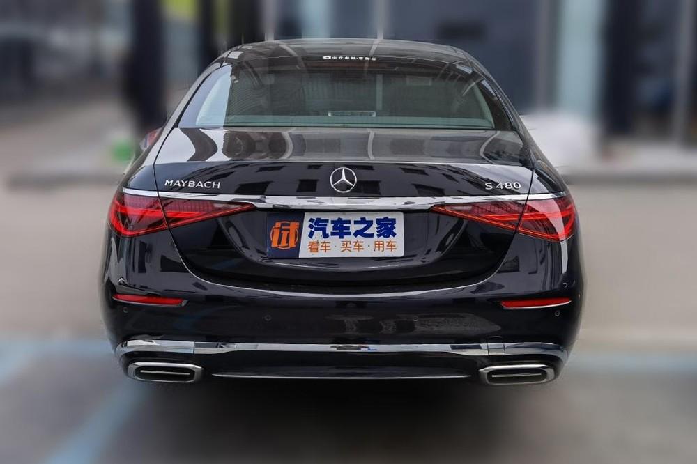 Mercedes-Maybach S480 2021 nhìn từ đằng sau