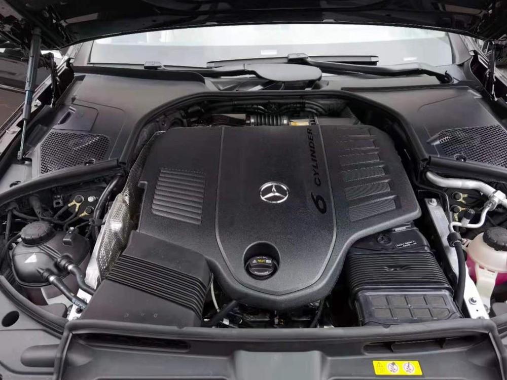 Động cơ của Mercedes-Maybach S480 2021