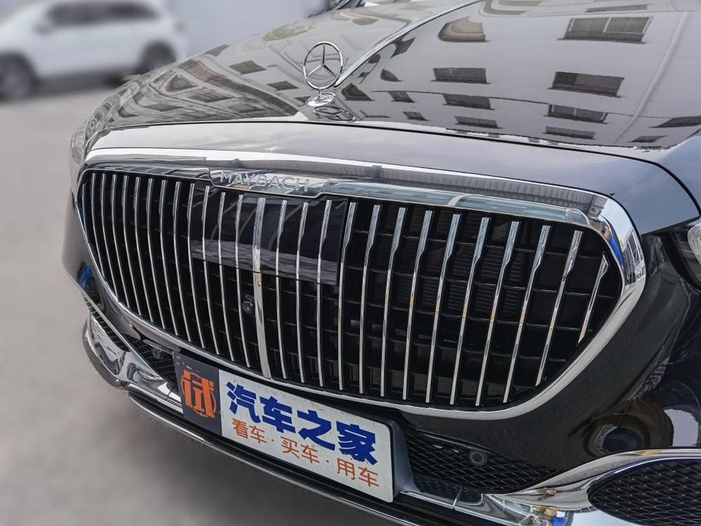 Lưới tản nhiệt của Mercedes-Maybach S480 2021