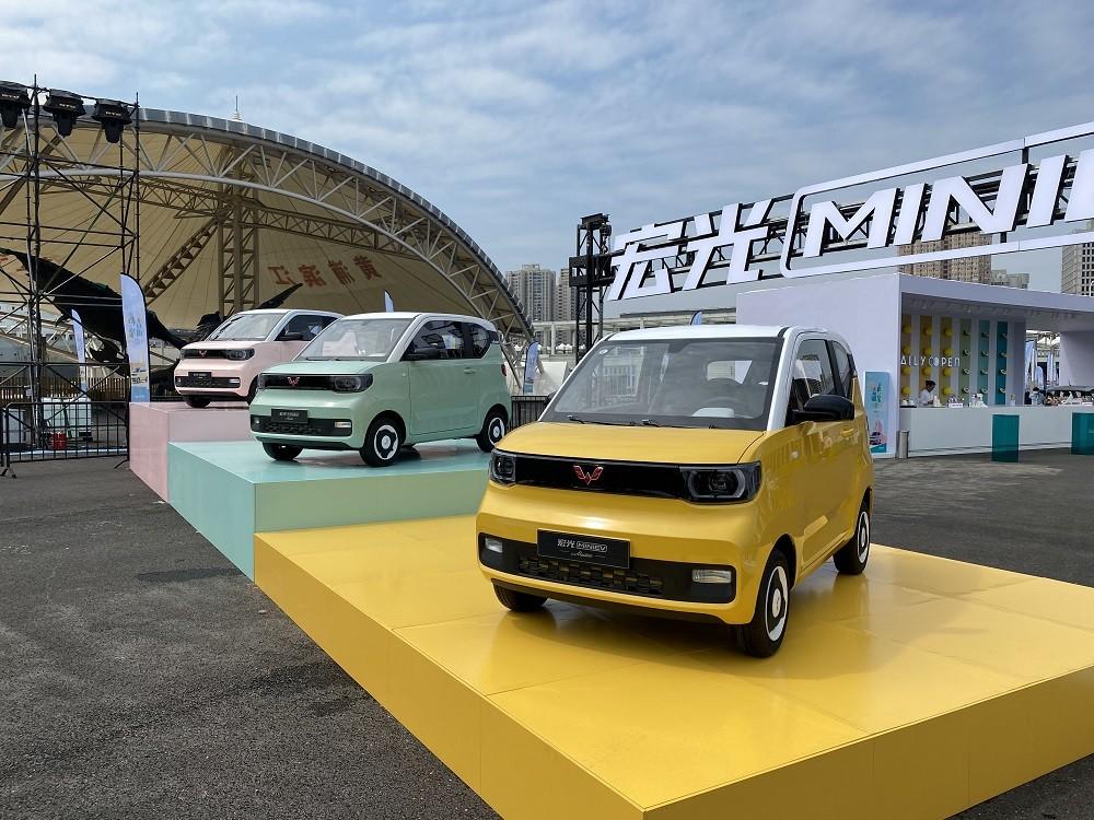 3 màu sơn của Wuling Hongguang Mini EV Macaron 2021