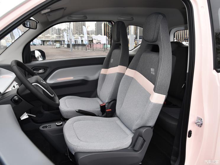 Ghế trước của Wuling Hongguang Mini EV Macaron 2021