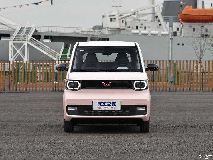 Cận cảnh thiết kế đầu xe của Wuling Hongguang Mini EV Macaron 2021
