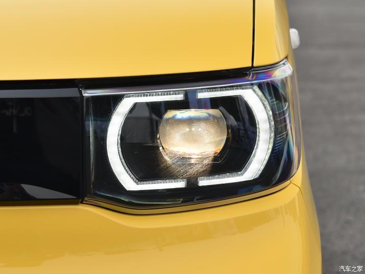 Đèn pha của Wuling Hongguang Mini EV Macaron 2021